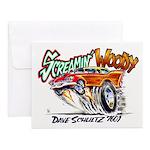 Screamin' Woody Notecards (set Of 10)