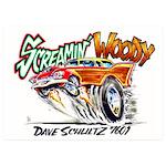 Screamin' Woody 5x7 Flat Cards (set Of 20)