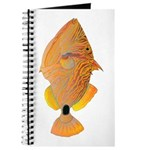 Orange-lined Triggerfish Journal
