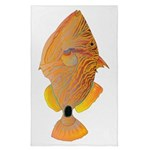 Orange-lined Triggerfish Tea Towel