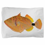 Orange-lined Triggerfish Pillow Sham