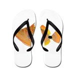 Orange-lined Triggerfish Flip Flops
