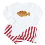Orange-lined Triggerfish Pajamas
