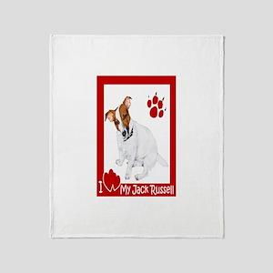I Heart My JRT Throw Blanket