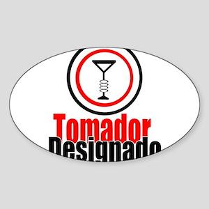 Tomador Designado Sticker (Oval)