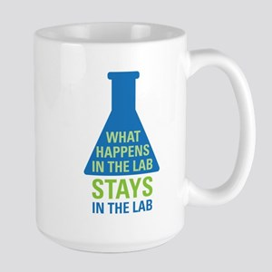 In The Lab Large Mug