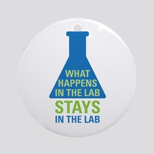 In The Lab Ornament (Round)