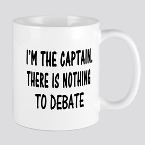NOTHING TO DEBATE Mug