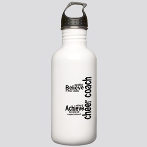 "Cheer Coach ""believe"" Stainless Water Bottle 1.0L"