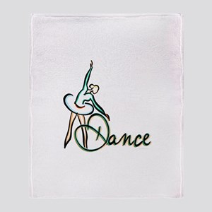 Dance Highlighted Throw Blanket