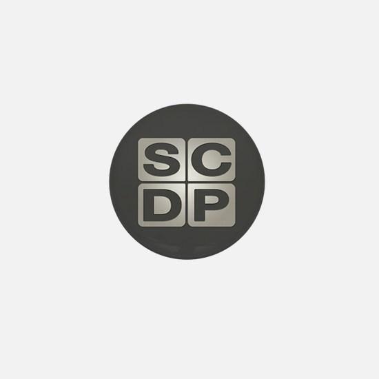 Sterling Cooper Draper Pryce Mini Button