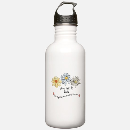 Allow Lives to Bloom Water Bottle