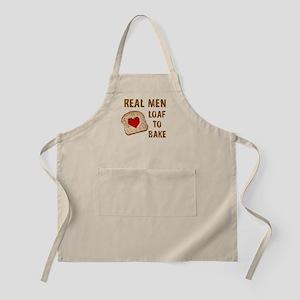 Real Men LOAF to bake Apron
