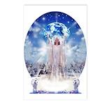 Winter Angel Postcards (Package of 8)