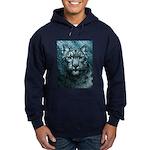 Snow Leopard Hoodie (dark)