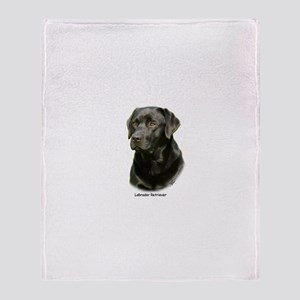 Labrador Retriever 9A054D-23a Throw Blanket