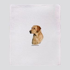Labrador Retriever 9Y297D-038a Throw Blanket