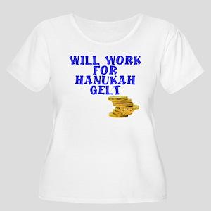 Hanukkah Women's Plus Size Scoop Neck T-Shirt