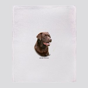 Labrador Retriever 9Y243D-004a Throw Blanket