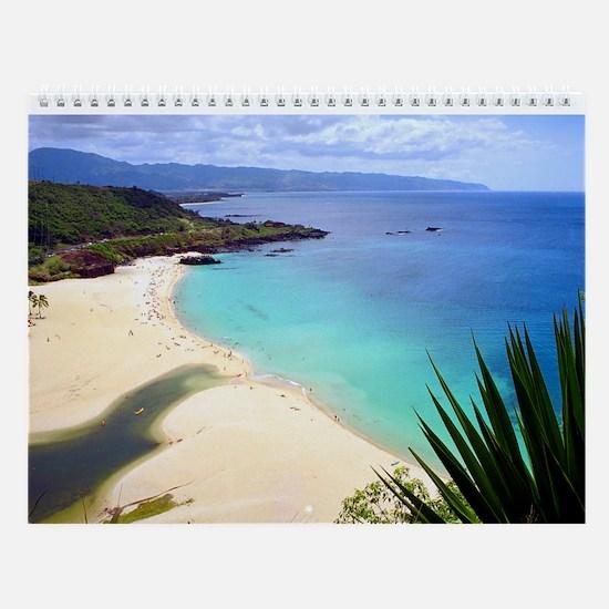 Hawaii Beaches-Oahu Wall Calendar