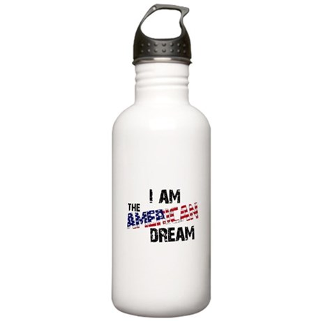 I Am The American Dream Stainless Water Bottle 1.0