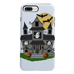 Halloween Haunted House Ghosts iPhone 7 Plus Tough