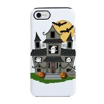 Halloween Haunted House Ghosts iPhone 7 Tough Case