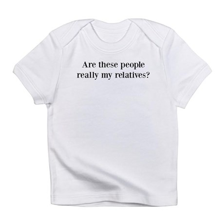 ARE THESE PEOPLE REALLY MY RE Infant T-Shirt