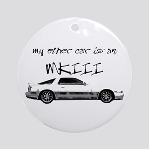 My other Car is an MK3 Ornament (Round)