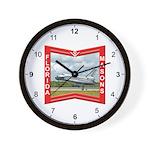 Florida Freemasons Wall Clock
