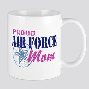 Proud Air Force Mom Mug