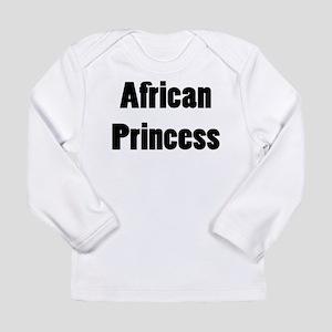 AFRICAN PRINCESS Long Sleeve Infant T-Shirt