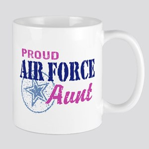 Proud Air Force Aunt Mug