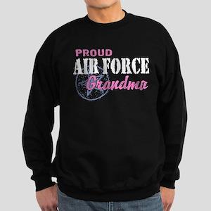 Proud Air Force Grandma Sweatshirt (dark)