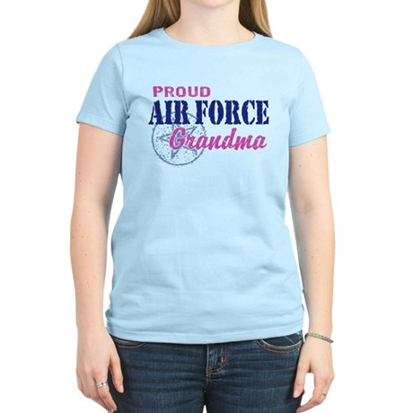Proud Air Force Grandma Women's Light T-Shirt