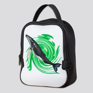 READY TO BREATH Neoprene Lunch Bag