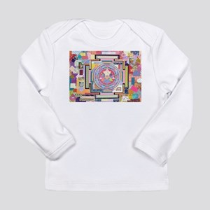 Sri Yantra Collage Long Sleeve Infant T-Shirt