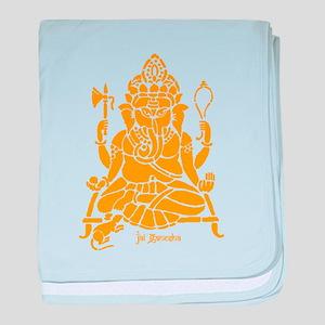 Jai Ganesh baby blanket