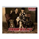 Modified K9 2011 Calendar