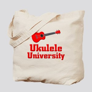 red ukulele Tote Bag