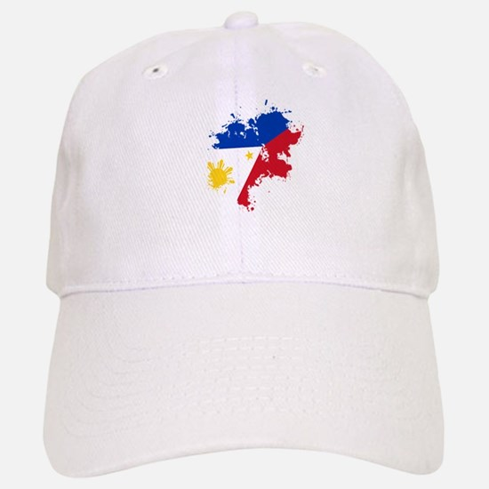 Pinoy Flag Baseball Baseball Cap