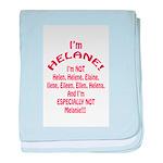 I'm Helane! baby blanket