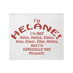I'm Helane! Throw Blanket