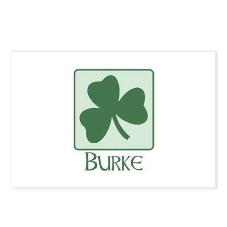 Burke Family Postcards (Package of 8)