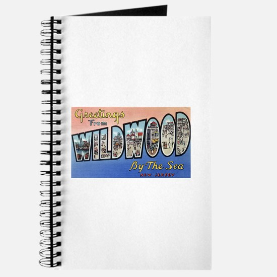 Vintage Wildwood Postcard 1 Journal
