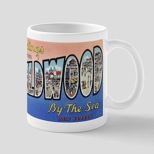 Vintage Wildwood Postcard 1 Mug