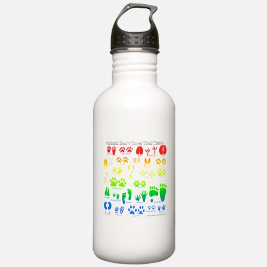 Colorful Rainbow Water Bottle