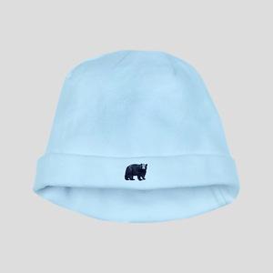 Black Bear baby hat