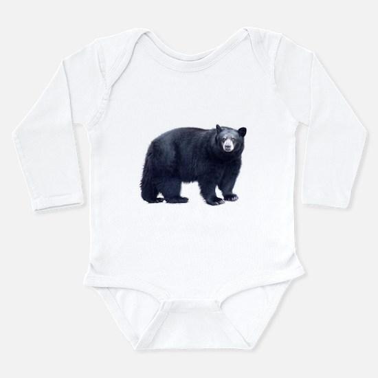 Black Bear Long Sleeve Infant Bodysuit