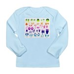 Rainbow Tracks Guide Long Sleeve Infant T-Shirt